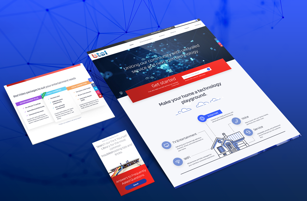 Custom Business Web Designs Created By Big Splash Web Design