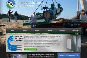 Pumps, Motors & Controls