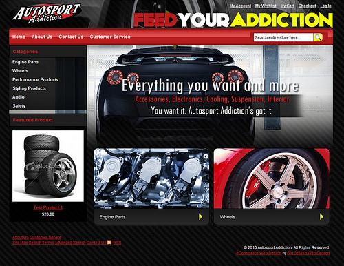 New Client Website - Auto Sport Addiction
