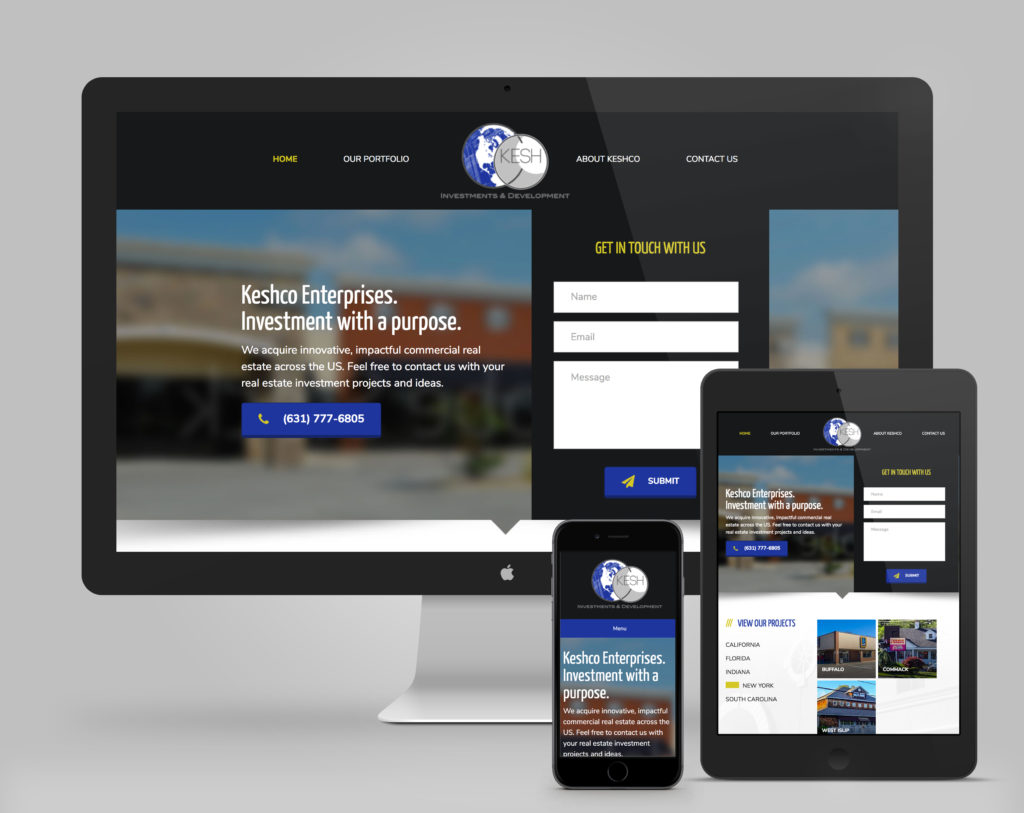 Keshco Enterprises | Portfolio Web Design