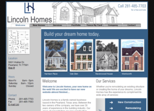 Lincoln Homes