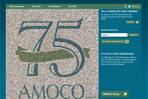 amoco anniversary website