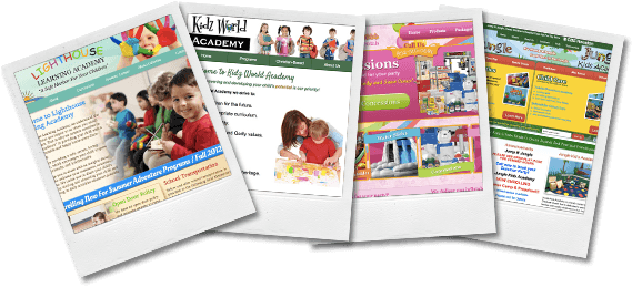 Daycare and Child Friendly Business Web Design Projects