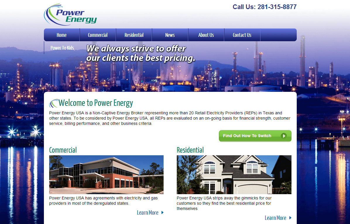 energy website