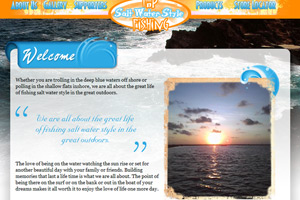 Fishing Charter Website Design